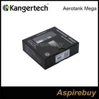 Kanger Tech Mega Aerotank atomiseur Kit verre et acier inoxydable Aero réservoir Mega Clearomizer avec amélioré Capacité BDC bobine double 3.8ml New