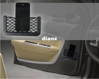 Wholesale New Arrive Universal Car Seat Side Back Net Storage Bag Phone Holder Pocket Organizer GPS