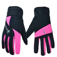Wholesale New Wind proof warmth outdoor sports gloves pink grey green for cycling hiking baseball sking hunting CL14