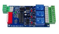 Wholesale 3CH dmx512 relay Controller dmx RELAY OUTPUT relay switch DMX512 relay decoder
