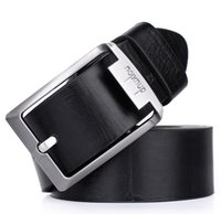 Wholesale Men Belts genuine leather business high quality buckle New Fashion top color