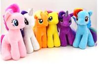 Wholesale in cm My Little Pony Plush toys designs U pick Cartoon Super Quality plush Dolls Stuffed Toys Plush Animals