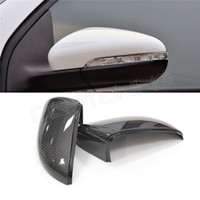 Wholesale Volkswagen VW Golf GTI R20 Without LaneAssit Carbon Fiber Rear View Mirror Cover Replacement