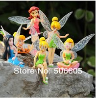 Wholesale set High Quality PVC set Tinkerbell Fairy Adorable tinker bell Figures toy doll