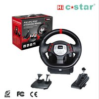 usb pc steering wheel - Dual Vibration Game Steering Wheel Need for Speed PC USB P2 P3 Steering Wheel