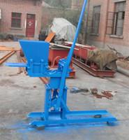 Wholesale manual compressed earth block machine manual interlock brick machine and manual clay brick making machine