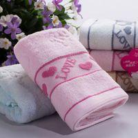 towel wrap - 2016 New cotton Towel Bulk Beach towel Spa Salon Wraps Terry Towels Lovely Fashion bulk towel