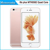 wifi gps - Unlocked i6s Plus I6s inch MTK6582 Quad Core HD MP Dual camera Show G GB Show G Lte G GPS Smart Android Phone