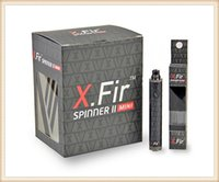 Wholesale 2015 Newest X fir Mini Vision Spinner II mAh Variable Voltage Battery V for e Cigarettes Ego Atomizers