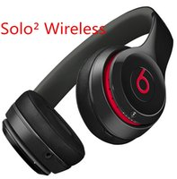 Computer beat headphone - Solo Wireless headphones Beat Solo bluetooth Headsets with mic on ear headphone earphones DHL for Iphone ipod ipad OY