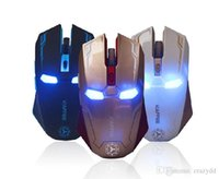 Cheap 2015 New Iron Man style mouse, wireless gaming mouse, three kinds of color choices best gift to send to friends