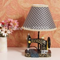 Wholesale Pieces Retro Sewing Machine Lamp Retro Table Lamp