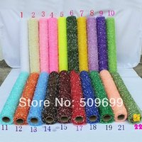 Wholesale new arrival DIY Floral wrapping flower packing material for party decoration Snow Point Gauze x360cm Pack