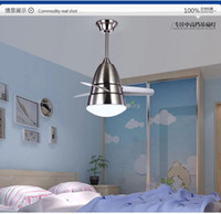 Wholesale colours modern fashion stainless ceiling fan ceiling fans with lights for kids room ceiling light ceiling fan led lighting