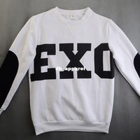 kpop - NEW KPOP Unisex White EXO SBS Sweatshirts Miracles Cotton Hoodies wy103