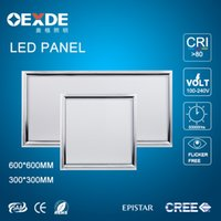 Wholesale LED panel W light mm led pannel LM high brightness SMD5630 Ceiling Light warranty years CE RoHS