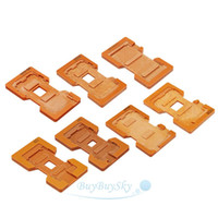 Wholesale 7 Molds For Samsung Iphone LCD Mould Touch Screen Glass Holder order lt no track