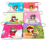 Purse beautiful messenger bags - New Arrival Children Fashion beautiful Girl pattern Wallets Holders Wallets phone bag coin purse QB66