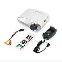 Wholesale High Quality USB SD HDMI TV VGA HD LED Video LCD P D Mini Home Theatre Portable Entertain Multimedia Projector