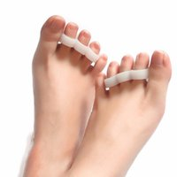 Wholesale 2pcs Hallux Valgus Bicyclic Thumb Orthopedic Braces Correct Daily Silicone Toes Hot Selling