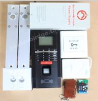 Wholesale Fingerprint Access Control System Fingerprint password credit card remote control door access attendance machine