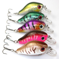 bass fishing lures - Fishing Lure Crankbait Hard Bait Fresh Water Shallow Water Bass Walleye mix color cm g