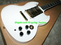 Cheap NEW white SG Custom Reissue Electric Guitars Free Shipping