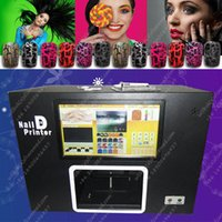 Wholesale New Digital art Computer nail printing machine Flower printer do your design great for lady business