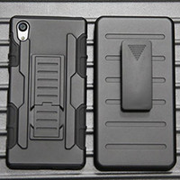 aqua skin phone case - Heavy Duty Rugged Armor Belt Clip Cell Phone Protection Defender Holster Case For Sony Xperia Z5 M4 Aqua E4 E4G Hard Cover SKin Shockproof