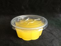 plastic bowl wholesale - ml disposable clear pudding bowl Jelly cup Plastic bowl