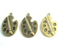 antique bronze paint - charms mm DIY alloy jewelry accessories antique bronze Paint plate charm pendants Diy Jewelry jewelry accessories stores