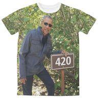 anti obama - Real USA Size Obama D Sublimation print T Shirt Plus size
