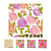 Wholesale The new printing color Napkin wedding banquet mouth cloth paper napkin