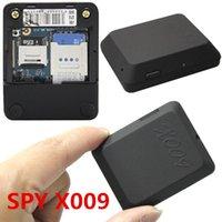 Wholesale Latest Mini Cam recorders X009 Camera Monitor Video Recorder Sos Gps Dv Gsm mhz spy cam