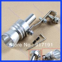 Wholesale Hot Sale Turbo Sound Exhaust Muffler Pipe Whistle Fake Blow off BOV Simulator Whistler Size XL