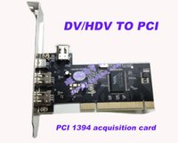 Wholesale 2015 NEW High quality DV HDV TO PCI Video Capture Card HD video capture Video acquisition card use for DV HDV Camera