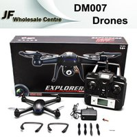 rc uav - 2015 Camera Drones DM007 Ghz Axis Gyro RC Quadcopter Drone UAV RTF UFO with MP HD Camera Drones