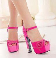 Cheap Hot Pink Platform High Heels | Free Shipping Hot Pink ...