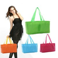 Wholesale Multi Color Separate Mummy Bag Eco Friendly Cute Nappy Maternity Stackers Handbag Liner Baby s Bottle Diaper Bag Storage Organizers SK472