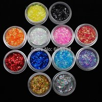art onion - NRB Hot Golden Onion Article Glitter Sequins Nail Art Sparklers Strip Acrylic Bottle Packing Decoration