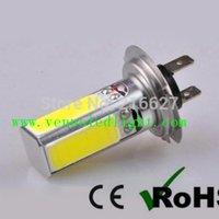 Fog light Bulb metro pcs - 50 COB LED H7 Fog DRL Car LED Day Driving Head Bulb Light Lamp W V
