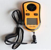 Wholesale m s MPH LCD Digital Hand held Wind Speed Gauge Meter Measure Anemometer Thermometer Digital anemometer