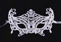 animal fangs - Lin Fang g dance party mask European and American fashion hollow mask dance performances mask Princess mask