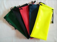 Wholesale Multi Colorful Soft Sunglasses Pouch Waterproof sunglass Bag eyeglass Case Mobile Watch mp3 Protable Bags