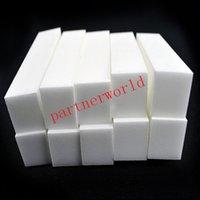 Wholesale X White color Nail Art Buffer Buffing Sanding Files Block