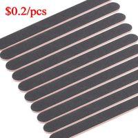 Wholesale 50PCS Nail Art Sanding File Block Buffer Manicure Tool Professional Side Nail Art Polish Grind Sand Files mm order lt no track