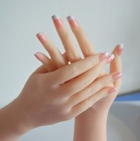 Wholesale New Hight Quality Female Mannequin Hand Model For Rings And Bracelet Display Soft Silicone Material