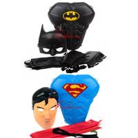 batman armor - Batman Superman Armor Mask Cloak Stage Shown Props for years Children Kids