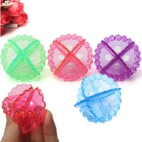 Wholesale Hot Sale Transparent Protective Magic Laundry Anti winding Decontamination Washing Clean Ball Protect Assistant Multicolor
