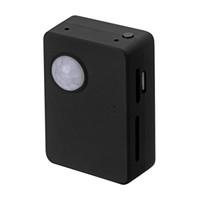 gsm alarm - Body Infrared Motion Detection Sensor Alarm PIR Detector GSM LBS Locator Sound Recorder F4340A